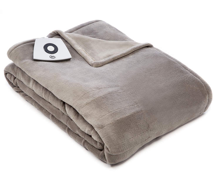 Gray Twin Electric Blanket silo front