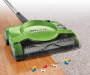 Green Cordless Floor and Carpet Sweeper lifestyle