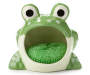 Green Frog Scrubby and Holder Silo Image