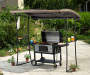 Grill Gazebo Replacement Canopy 7 Feet by 5 Feet Outdoor Setting Lifestyle Image