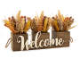 "HARVEST ""WELCOME"" HEATHER FLORAL DÉCOR"