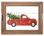 HC WOODEN DECORATIVE TRAY TRUCK