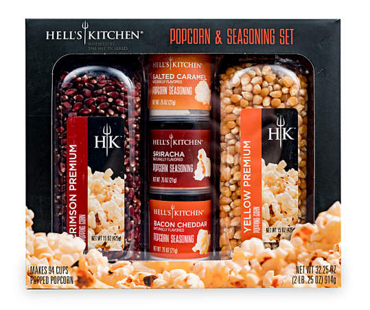 Maud Borup Hell S Kitchen Popcorn Seasoning Food Gift Set 32 25 Oz Big Lots