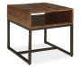 HIRVANTON BROWN END TABLE