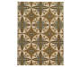 Hackney Tan Area Rug 5FT3IN x 7FT3IN Silo Image