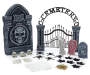 Halloween 25 Piece Cemetery Kit Silo front Image