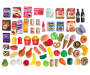 Hamburger and Snacks Play Food Set 70 Piece Out of Package Styled Silo Image
