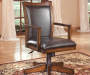 Hamlyn Brown Desk Chair lifestyle
