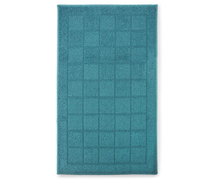 Hampton Blue Accent Rug 1 Foot 8 Inch by 2 Feet 10 Inch Overhead Silo Image