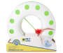 Happy Circle Chase Cat Toy with Balls Silo Image Front View In Packaging