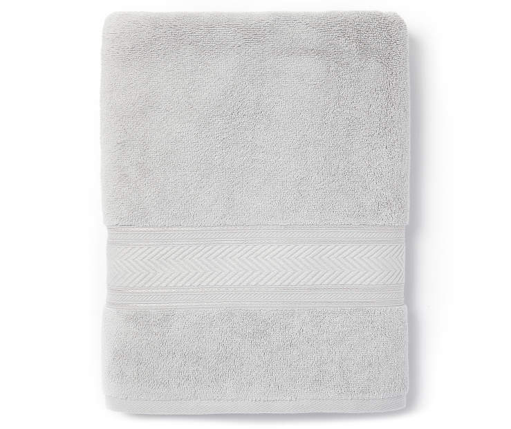 Harbor Gray Bath Towel Silo