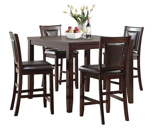 Harlow 5 Piece Pub Table Chair Set Big Lots