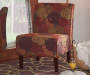 Harvest Marigold Armless Accent Chair lifestyle
