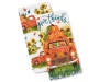 Harvest Truck Kitchen Towels 2 Pack silo front