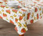 Harvest Truck PEVA Tablecloth 52 inch x 90 inch lifestyle