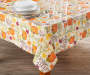 Harvest Typography PEVA Tablecloth lifestyle