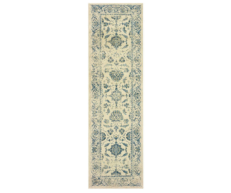 Hathaway Ivory Runner 2FT3IN x 7FT6IN Silo Image