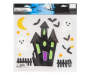 Haunted House Halloween Gel Clings