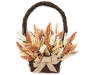 Heather Flower Basket Wall Decor silo front