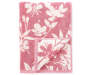 Heather Rose Flowers Double Jacquard Bath Towel silo front