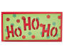 Ho Ho Ho Cut Out Box Plaque silo front
