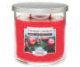 Holiday Apple Wreath Tumbler Candle 12 ounce silo front