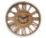 Home with You Wood and Metal Wall Clock silo front