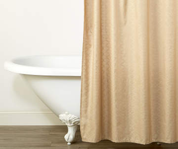 Non Combo Product Selling Price 80 Original List 800 Living Colors Hummus Tan Quatrefoil Link Fabric Shower