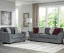 Idlebrook Gray Loveseat