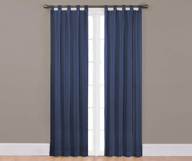 Indigo Colorado Curtain Panel Pair 84 Inches on Window Room View