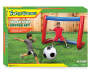 Inflatable 2 Piece Super Star Soccer Set silo top view in package