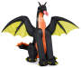 Inflatable Dragon with Wings Silo