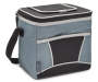 Insulated 9-Can Gray and Black Cooler Tote