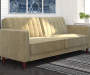 Irene Tan Velvet Tufted Futon lifestyle living room