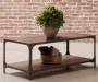 Irwin Wood and Metal Coffee Table lifestyle