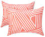 JH 8PC QN BIAB DELIA RETRO CORAL/WHITE