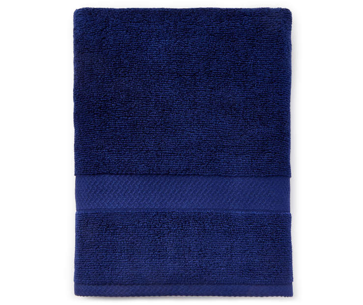 JH BATH TOWEL BLUE DEPTH