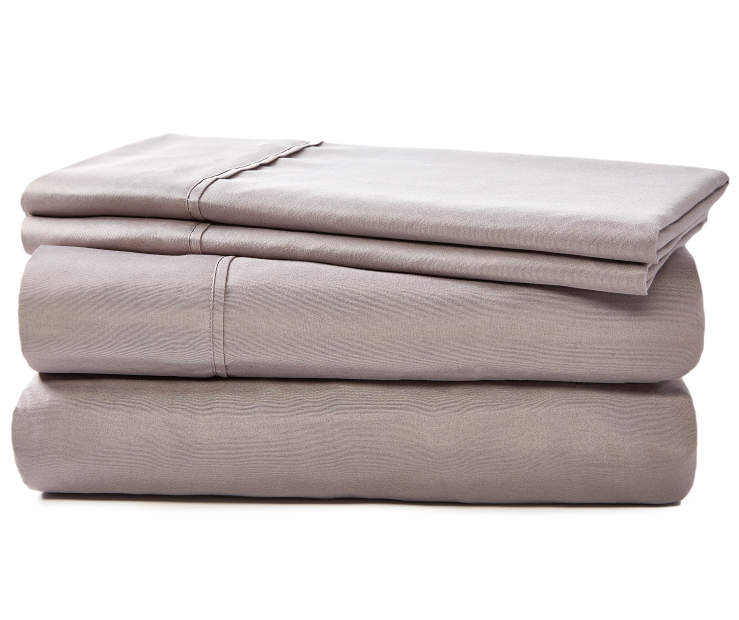 JH MICROFIBER SHEET KING GREY