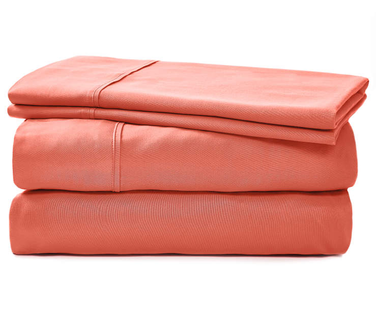JH MICROFIBER SHEETS QUEEN CORAL