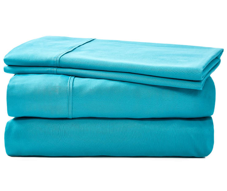 JH MICROFIBER SHEETS QUEEN TEAL