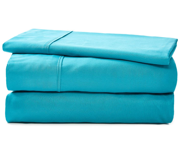 JH MICROFIBER SHEETS TWIN TEAL