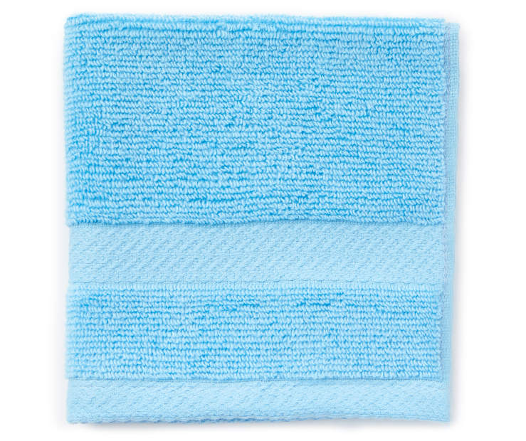 JH WASH TOWEL ALASKAN BLUE