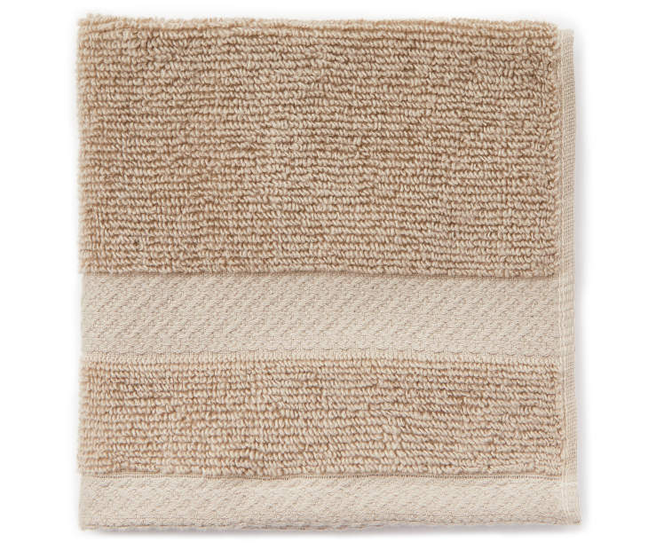 JH WASH TOWEL ALUMINUM TAN