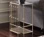 JORENTON CHAMPAGNE ACCENT TABLE