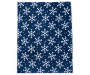 JUST HOME SNOWFLAKE SOFT THROW