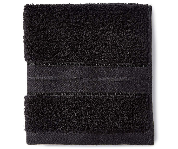 Jet Black Wash Cloth silo front