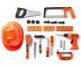 Jr Builder Power Tools 21 Piece Play Set silo front
