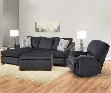 Simmons Judson Slate Sofa Chaise Big Lots