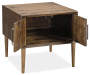 KISPER BROWN END TABLE