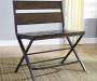 Kavara Brown Counter Height Double Barstool lifestyle